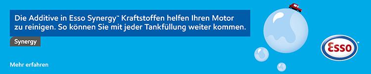 LUX Always On - Esso Card banner DE